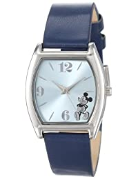 Disney unisex-adult Mickey Mouse Light Sunray Navy Strap Watch Blue MK1043