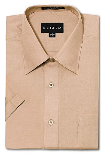 G-Style USA Men's Regular Fit Short Sleeve Solid Color for sale  Delivered anywhere in USA