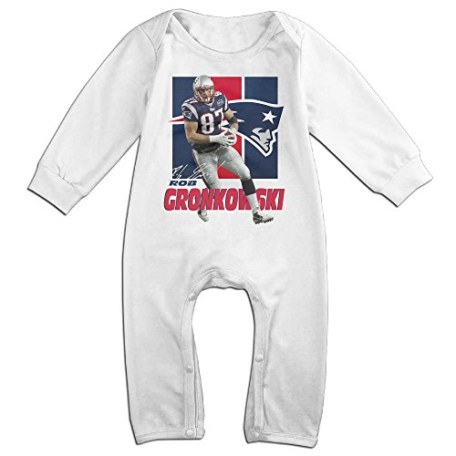 [HOHOE Newborn Famous Football Player Long Sleeve Bodysuit Outfits 12 Months] (Pi Day Costume Ideas)