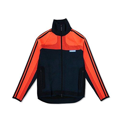 Adidas Män Stickade Träningsoverall (orange / Fet Orange / Legend Bläck) Orange / Fet Orange / Legend Bläck