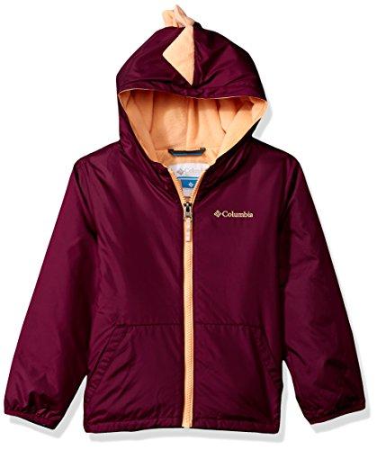 Columbia Girls' Little Kitterwibbit Jacket, Dark Raspberry, 4T (Jacket Columbia Raspberry)