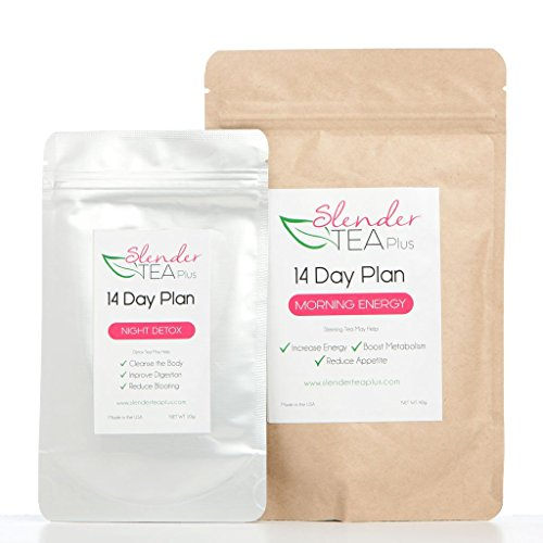 14 Day Morning Energy & Night Detox Tea Plan