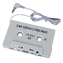Car Cassette Tape Adapter For MP3 CD Player iPhone iPod