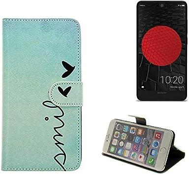 K-S-Trade 360° Funda Smartphone Compatible con Sharp Aquos C10 ...