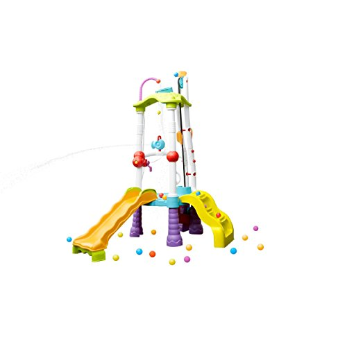 Little Tikes Fun Zone Tumblin' Tower Climber, Multicolored