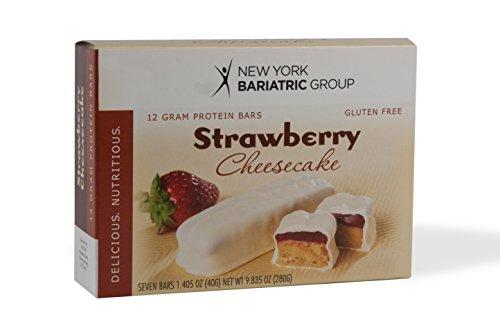 New York Bariatric Group Protein Bars (7 Bars) - Strawberry Cheesecake