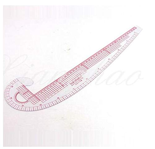 1 pcs 3 in 1 Plastic French Curve Metric Sewing Ruler Measure for Dressmaking Tailor Grading Rule Pattern Making Rocita