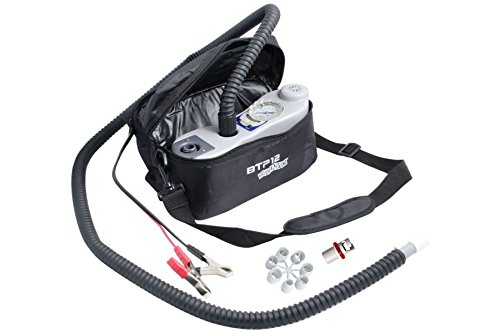 BTP Mano Two Stage Electric Turbo Pump for Inflatable Kayaks, SUPS, and Boats