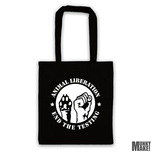 bag end LIBERATION colours different ANIMAL Black tote testing the RXWwOv