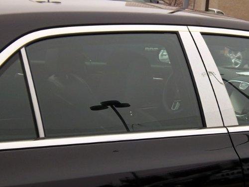 QAA FITS 300 2011-2019 Chrysler (6 Pc: Stainless Steel Pillar Post Trim Kit, 4-Door) PP51761