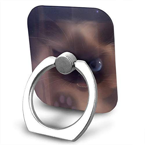 Painting Art Cats Cell Phone Ring Holder, Phone Ring Holder 360°Rotation Finger Ring Stand Phone Ring Grip for iPhone X/8/8 Plus, Galaxy S9/S9 Plus and Almost All Phones