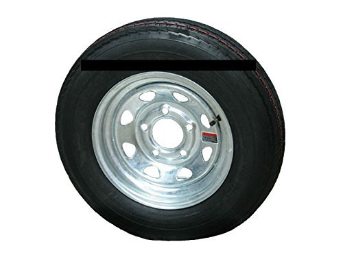 Galvanized Spoke Wheel (4.80-12 LRC 6 PR Eco-Trail Bias Trailer Tire on 12
