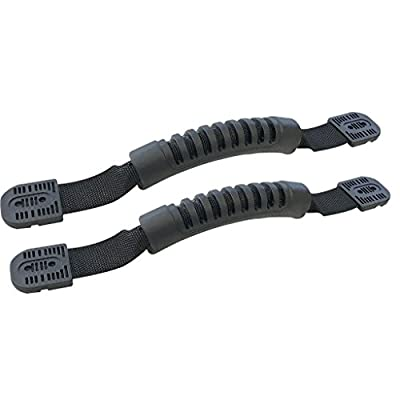 2 Kayak Carry Handles with Kayak Hardware (Kayak Grab Handles for Kayak) - (Fit: Ocean Kayak, Lifetime Kayaks, Pescador Kayaks, Emotion Kayaks, Perception Kayaks and other major brands)