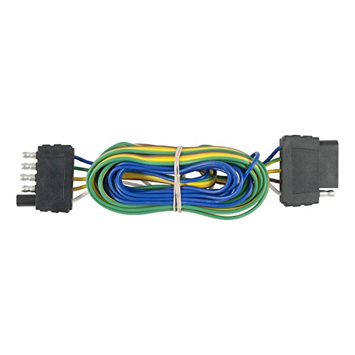 - CURT 58550 Vehicle-Side and Trailer-Side 5-Pin Trailer Wiring Harness with 72-Inch Wires, 5-Wire Trailer Wiring