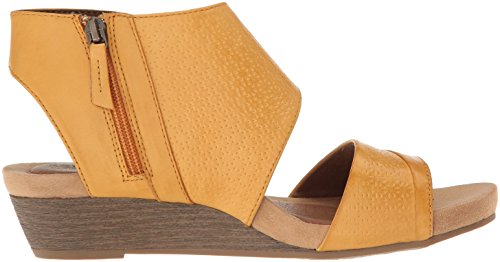 Cobb Hill Womens Hollywood 2-delig Sandaal Amber Leder