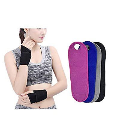 1Pc Gym Weight Lifting Wrist Wraps Thumb Support Straps Winding Wrist Bracers Fitness Sports Wristband Hand Bands For Fitness Estimated Price £8.39 -