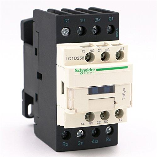 NEW AC Contactor 4P LC1D258 LC1D258G7 LC1-D258G7 40A 120V AC coil by Schneider (Image #5)