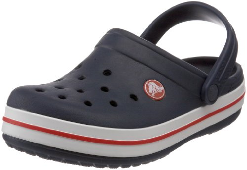 crocs Kids' Crocband Clog (Toddler/Little Kid),Navy,10-11 M US Little Kid
