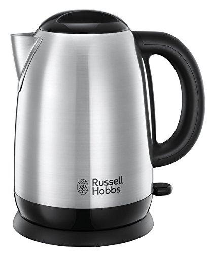 Russell Hobbs Adventure - Hervidor de Agua Electrico (2400 W, 1,7l, Acero Inoxidable, Gris) - ref 23912-70