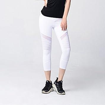 Binbinzhou Pantalones de yoga Yoga Siete Puntos Vestir ...