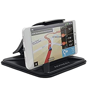 Aonkey Cell Phone Holder for Car, Dashboard Car Mounts for iPhone X 8 Plus 7 Plus 6 6S Plus, Non-Slip GPS Holder Car Cradles for Galaxy Note 8 S8 Plus S7 Edge and 3-7 inch Smartphone or GPS Devices