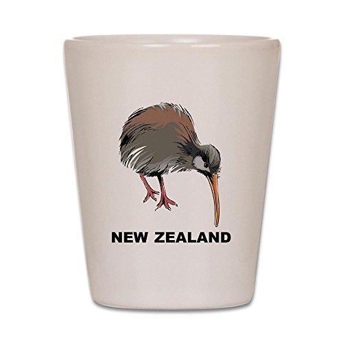 CafePress - New Zealand Kiwi - Shot Glass, Unique and Funny Shot - Zealand New Glasses
