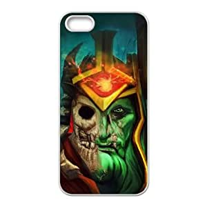 iPhone 4 4s Cell Phone Case White Defense Of The Ancients Dota 2 WRAITH KING 003 OIW0472548