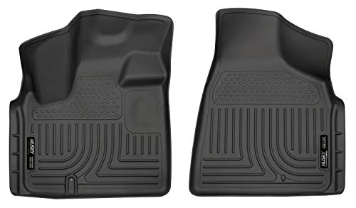 Husky Liners 18091 Black Weatherbeater Front Floor Liners Fits 2008-16 Chrysler Town & Country, 2008-19 Dodge Grand Caravan