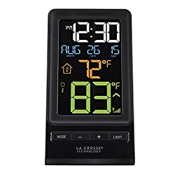 La Crosse Technology 308-1415 Wireless Thermometer, Black