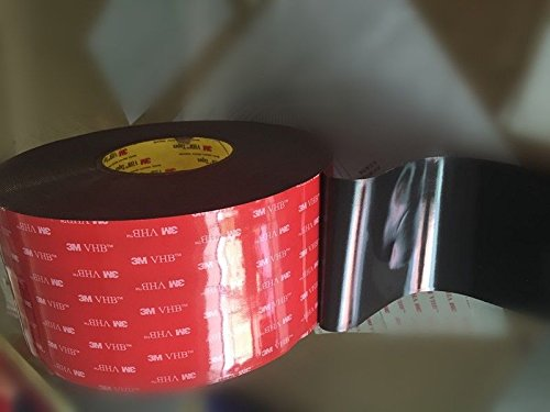 Cinta adhesiva de espuma de doble cara de 3 m x 2,54 cm VHB #5952