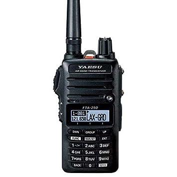 Yaesu FTA-250L Handheld VHF Airband Transceiver Comm only