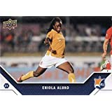 2011 Upper Deck MLS Soccer #187 Eniola Aluko Sky Blue FC WPS Super Draft Official Major League Soccer Trading Card From UD