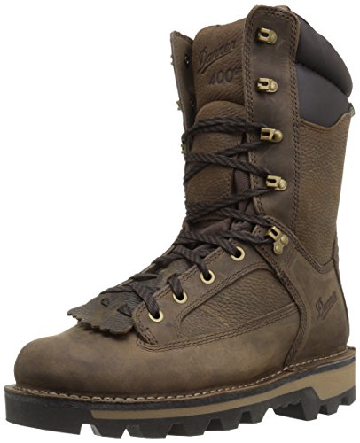 Boots Waterproof Insulated 400g (Danner Men's Powderhorn Insulated 400G Hunting Shoes, Brown, 11 D US)