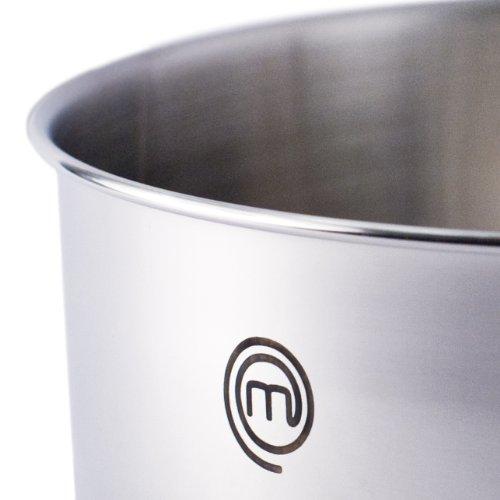 Chef Master MasterChef CW0002960 - Batería de cocina, 3 piezas de 16, 18 y 20 cm, con tapa y asa adicional: Amazon.es: Hogar