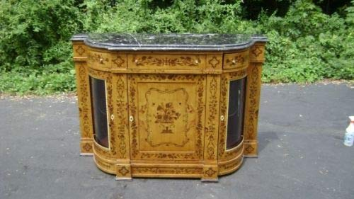 Rosewood Victorian style marquetry Credenza (Credenza Rosewood)