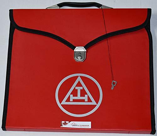 Zest4Canada Masonic Red Royal Arch Apron Printed Logo Case