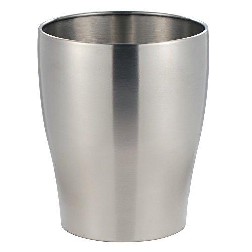 Stainless Steel Waste Paper Basket - 8