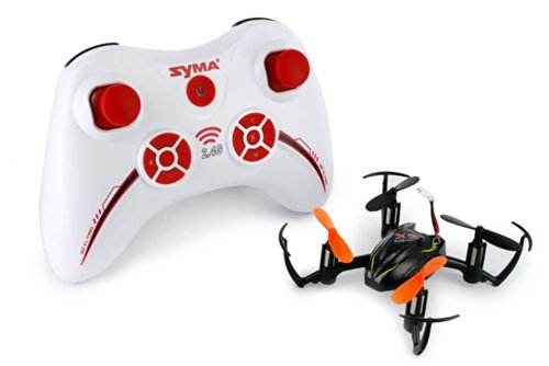 Syma X2 6-axis Gyro 4-CH RC Quadcopter RTF Protection Design, Stabilization, 360° Eversion - Black
