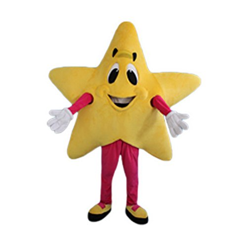 Dress Costumes Star (Yellow Star Mice Mascot Costume Character Adult Sz Real Picture Langteng Cartoon)