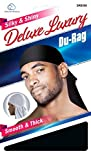 Deluxe Du-rag Smooth & Thick #007 BLACK