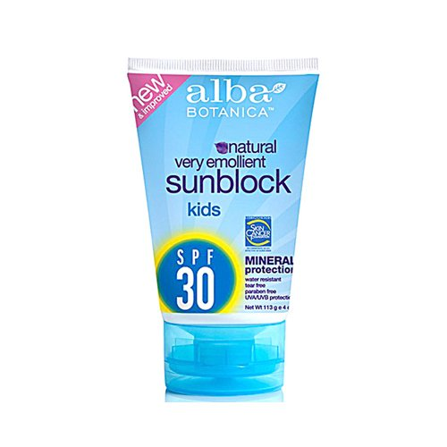 nica Very Emollient Natural Sun Block Mineral Protection Kids Spf 30 - 4 Oz ()