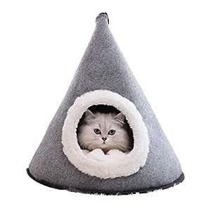 Casas y hábitats tienda de campaña cerrada para gatos, para ...