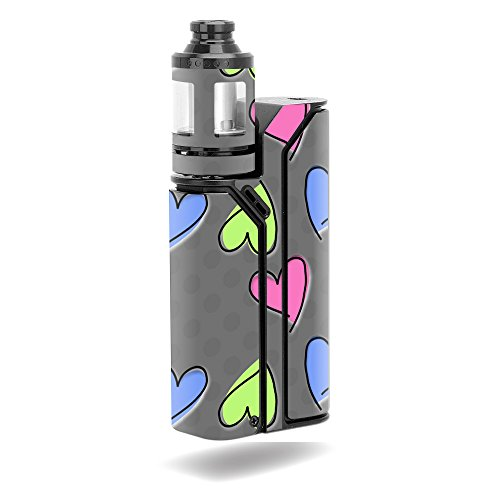 MightySkins Skin Compatible with Wismec Reuleaux RX75 Kit - Girly | Protective, Durable, and Unique Vinyl Decal wrap Cover | Easy to Apply, Remove, and Change Styles | Made in The USA