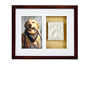 Amazon Com Pearhead Dog Or Cat Paw Prints Pet Wall Frame