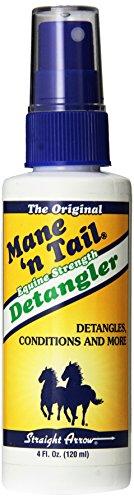 Mane 'n Tail Straight Arrow Equine Detangler Spray for Horse, 4-Ounce