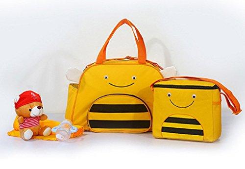 Multifunción mono rojo tres series de nuevos modelos animales de hombro del paquete diagonal bolsa de productos niño bebé bolso de la madre de la mamá