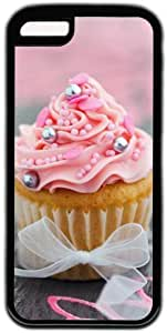 LJF phone case Pink Cupcake Theme iphone 4/4s Case