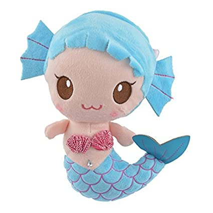 c95065432a9 Amazon.com  Encounter Blue Mermaid Plush Doll Stuffed Animals  Toys ...