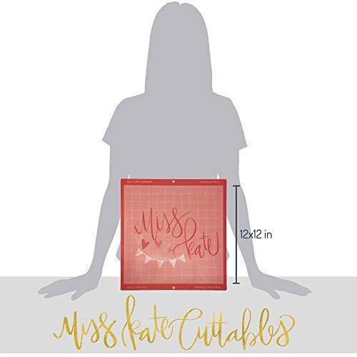 MK Mat for Cricut Silhouette - 12''x12'' - Standard Stick Pink Cutting Mat (3 Pack) - by Miss Kate Cuttables