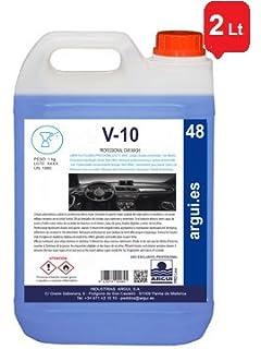 ARGUIPRO Line V10 Professional Car Wash. 2 litros. Limpia SALPICADEROS Profesional Efecto Mate Y
